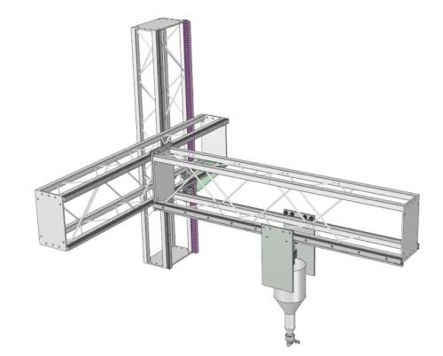 モジュラー型3Dプリンター「BOD2」を構成する部材
