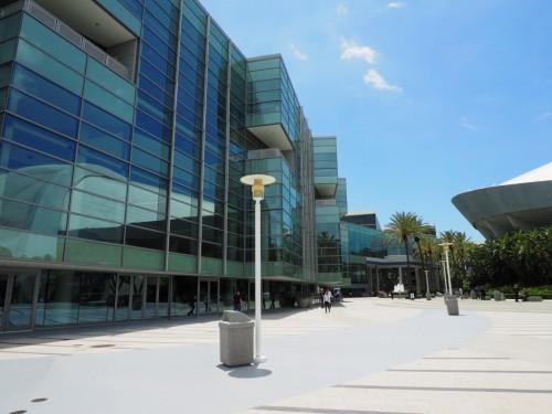 「SPAR3D」と「AEC NEXT」が共同開催されているアナハイムコンベンションセンター(以下の写真:家入龍太)