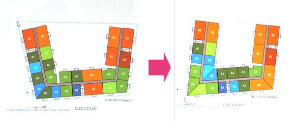 建物の敷地に応じて部屋の配置などを変える「BIMのオートメーション」は既に実現されている