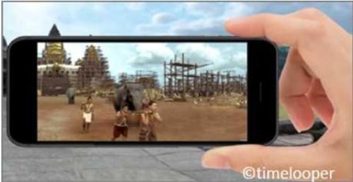 VR・ARによる観光振興のイメージ