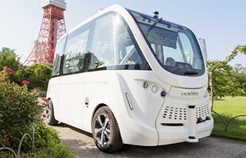 SBドライブが行うバスなどの自動運転イメージ