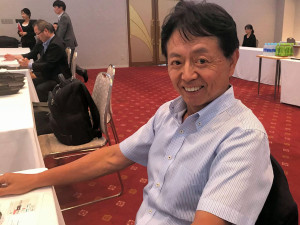 V-COMON代表取締役 CEO 嶋内敏博氏