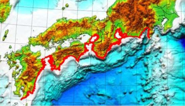 津波被害の予測が可能な地域