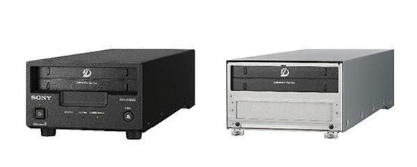 ドライブユニットの「ODS-D380U」(左)と「ODS-D380F」(右)