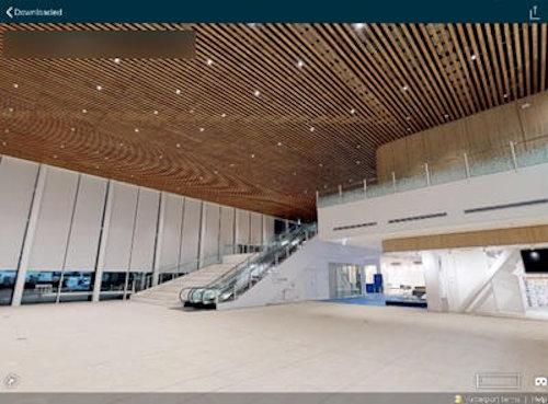竣工建物の3Dウォークスルー画像