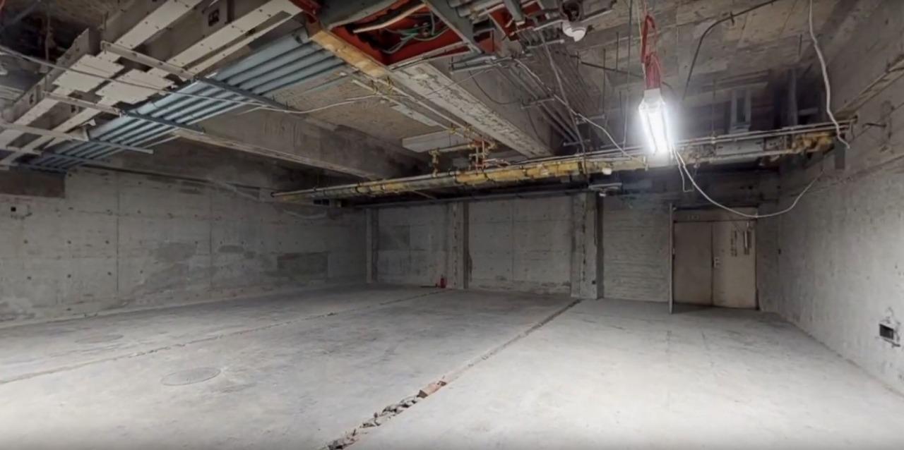 耐震補強工事前の建物内を再現した3Dモデル