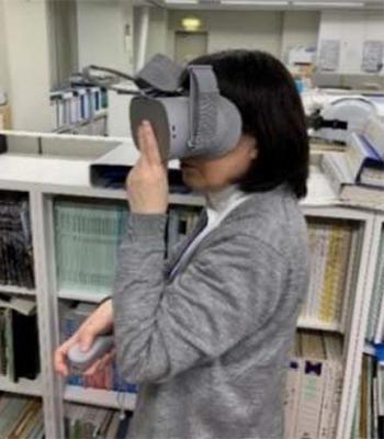 VRを活用した空間体験のイメージ