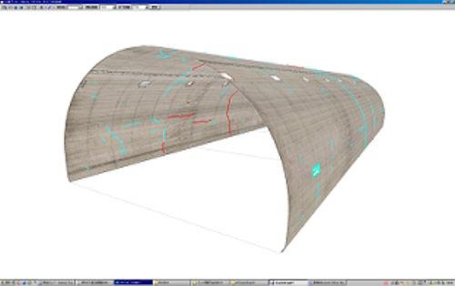 CrackDraw21のひび割れ3D表示機能(資料:東設土木コンサルタント)