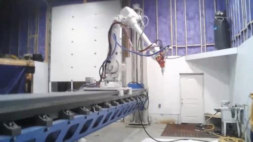 トゥエンテAMが開発した3Dプリンター(Photos: Courtesy of Twente Additive Manufacturing B.V.)