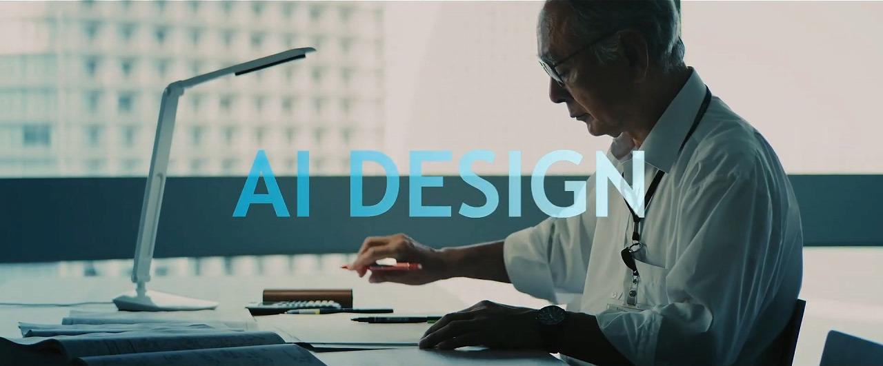 AIによる自動設計イメージ
