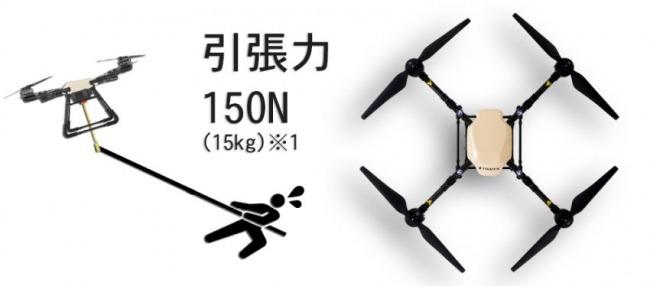 150N(15kg)という強力な引っ張り力を持っている