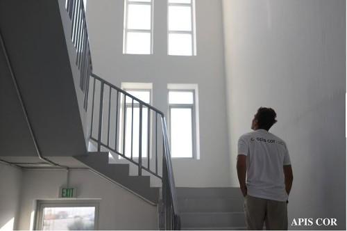 建物内部の階段