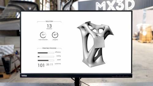 3Dプリンターによる造形の効率やスピードなども考慮されている