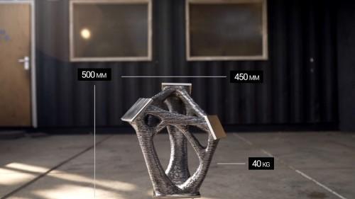 製作された金属製継ぎ手の大きさ