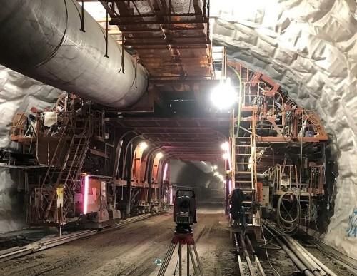 尾鷲第四トンネル現場での稼働状況
