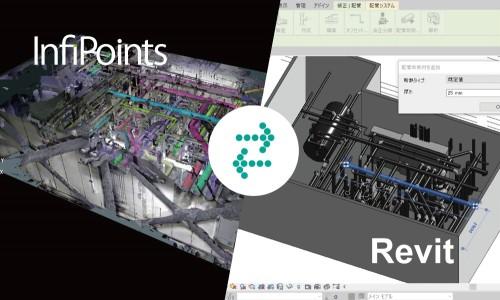 点群データをRevitのBIMモデルに変換するイメージ(以下の資料:エリジオン)