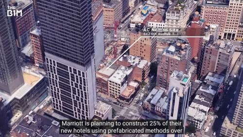 ニューヨークの建設現場