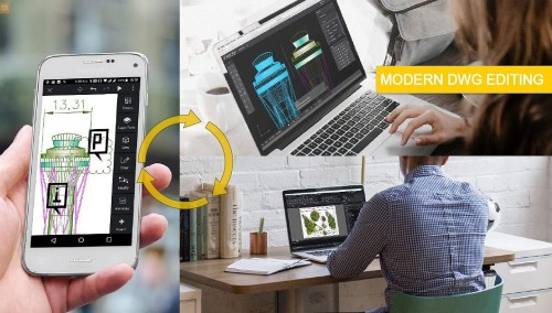 デスクトップ、携帯端末、クラウドに対応したDWG互換CAD「ARES」シリーズ(以下の資料:Graebert社)