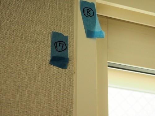 仕上げ工事で「ダメ出し」部分に付せんを張ったイメージ(写真:家入龍太)