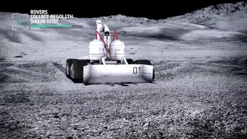 ESAとフォスター・パートナーズが開発した月面用3Dプリンター車