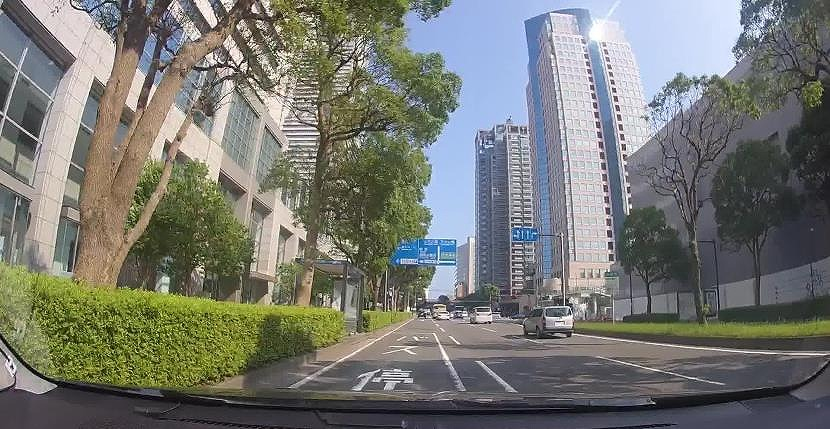 ドライブレコーダーで撮影した画像(以下の資料:ゼンリン、Mobility Technologies)