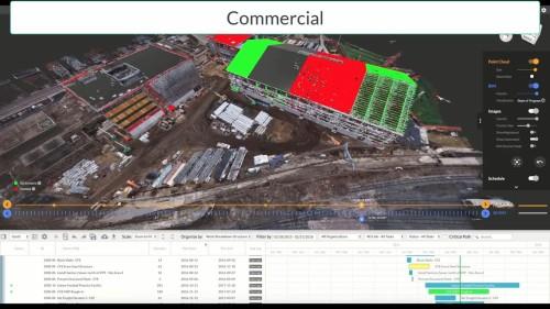 施工管理を在宅勤務化する「2D3D RMap」のイメージ