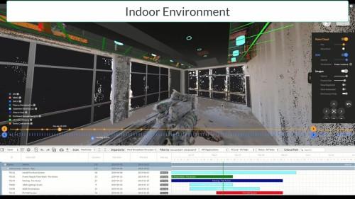 内装工事の工程管理の例