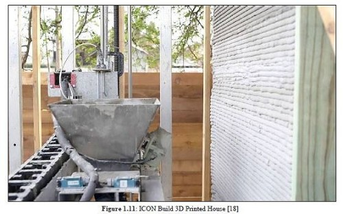 米国の基準で認められた初の住宅を建設したICON社の3Dプリンター