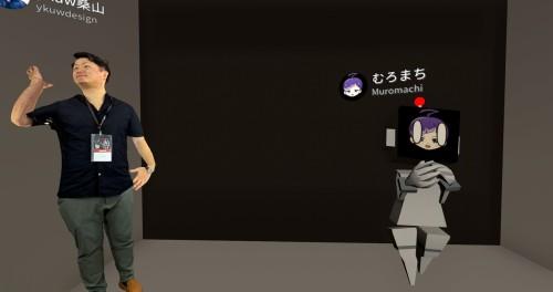 """イベントの主催者たち(以下の画像:家入龍太がイベント内で""""撮影"""")"""