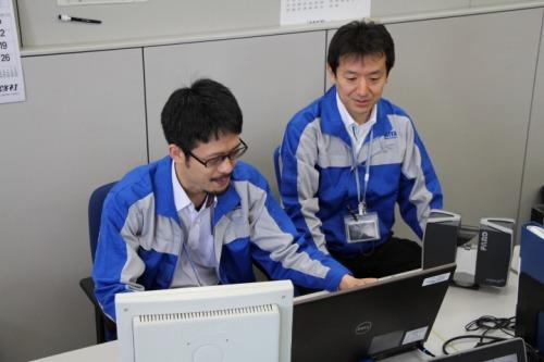 FARO Focus3Dを活用する日比谷総合設備の技術者