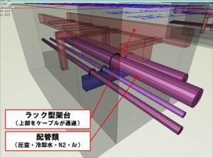 (図3)設備部分検討モデル2(設計協力会社作成)