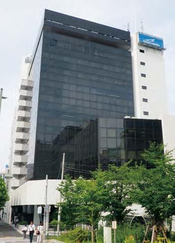 山下設計東京本社のオフィスが入居するビル