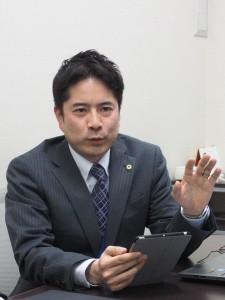 経理部情報システムグループOA管理チーム 大桃伸一氏
