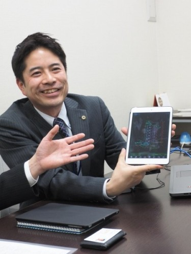 近い将来、現場にiPadを導入し、IJCAD Mobileでの図面参照も可能になる