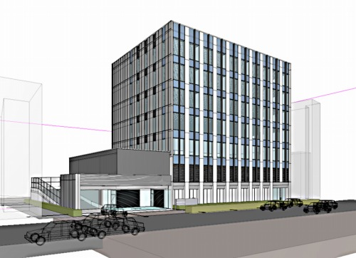 GLOOBEで設計した建物の意匠モデル