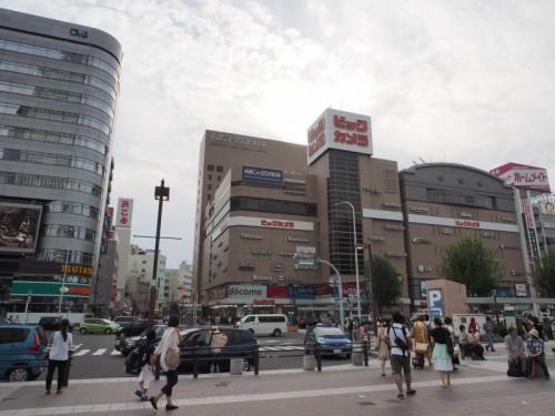 JR名古屋駅西側に広がる駅前広場