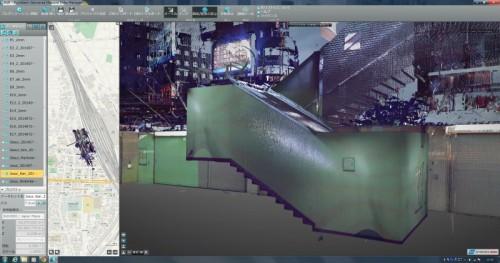 地下街と地上をつなぐ3Dイメージ