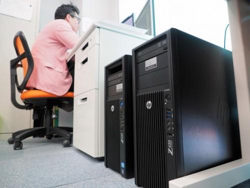 DVI沖縄オフィスの業務を支える日本ヒューレット・パッカードの高性能ワークステーション「Z420」