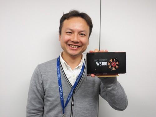 ArchiCADユーザーの視点でAMD FirePro W5100を徹底検証したグラフィソフトジャパンの高橋靖幸氏