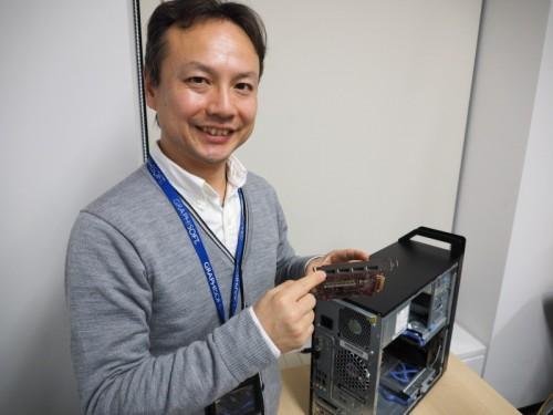 AMD FirePro W5100の最終評価を語る高橋氏