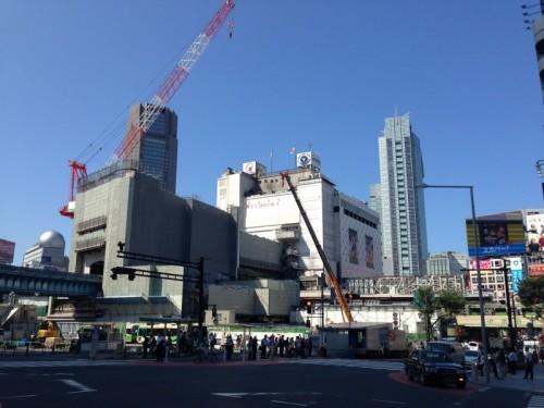 【写真4】大きく変容をとげつつある渋谷駅前の風景