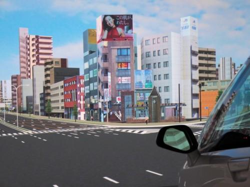 UC-win/Roadでリアルに再現された名古屋の街並み