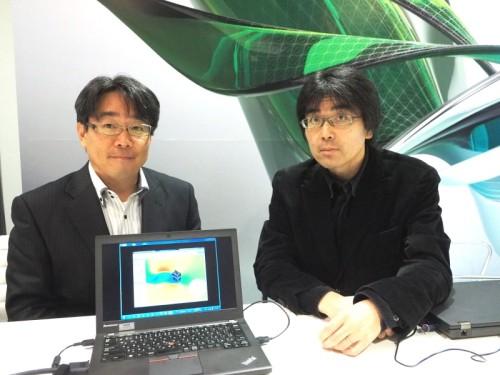 Integrated BIMについて語る日本設計3Dデジタルソリューション室の吉原和正氏(左)と室長の岩村雅人氏(右)
