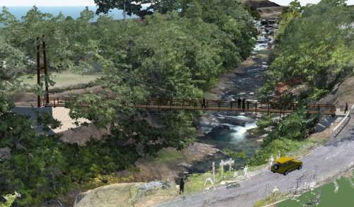 「AUTODESK CREATIVE DESIGN AWARDS 2015 CIM部門」のグランプリを受賞した「ドローンを活用した景観橋梁設計」