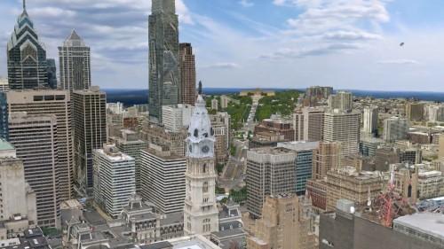 3Dリアリティー・モデリングソフト「ContextCapture」で航空写真から自動作成した3D都市モデル