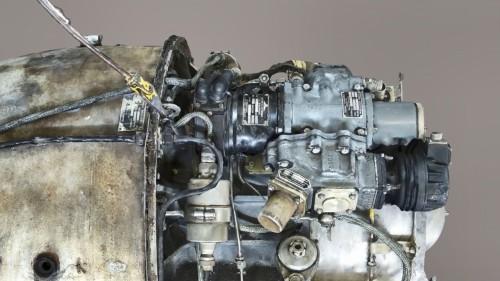 写真データから作ったジェットエンジンの3Dモデル。配線や配管、部品などが入り組んだ複雑な形状だが、手作業によるノイズ除去はほとんど必要ない