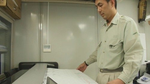 最大914mm×8000mmまでの原稿を読み取れる大判スキャナーを装備