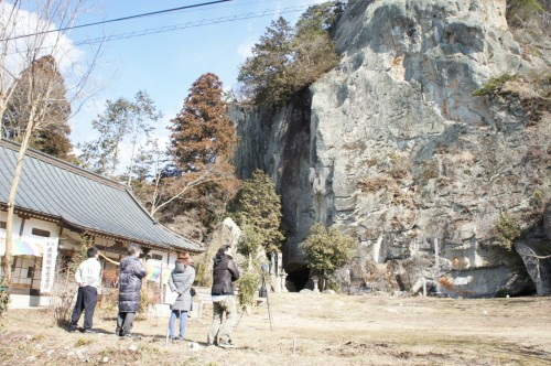 FAROレーザースキャナー Focus 3Dによる栃木県塩谷町にある佐貫観音の計測作業