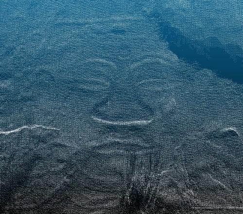 FAROの3Dスキャナー「Focus 3D」で計測した点群データ。肉眼では見えにくかった部分もはっきり分かる