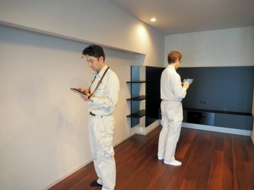 1つの住戸を複数の現場監督が同時並行でチェックすることも簡単